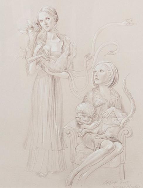 , 'Inverso Mundus, Girls & Chimeras #3,' 2015, Galeria Senda