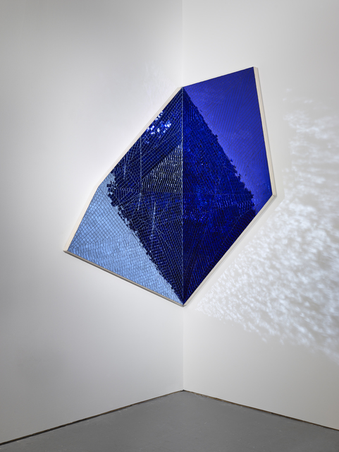 , 'Toward Great Becoming (blue/blue),' 2014, Anthony Meier Fine Arts