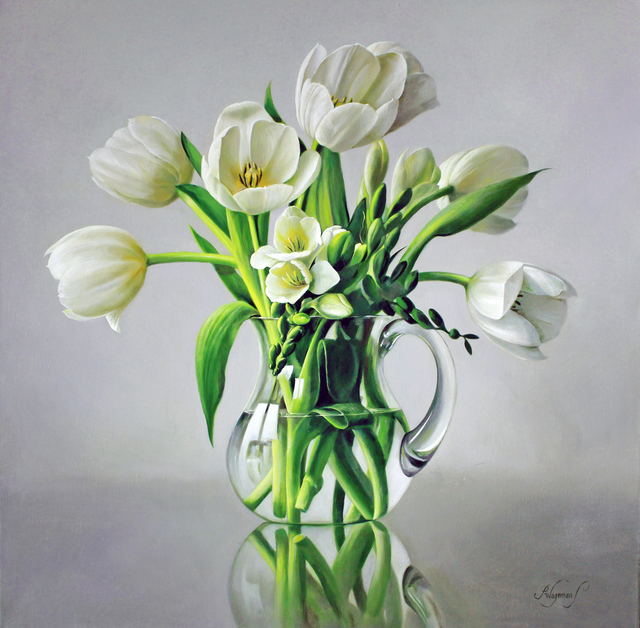, 'White Tulips,' , Gladwell & Patterson
