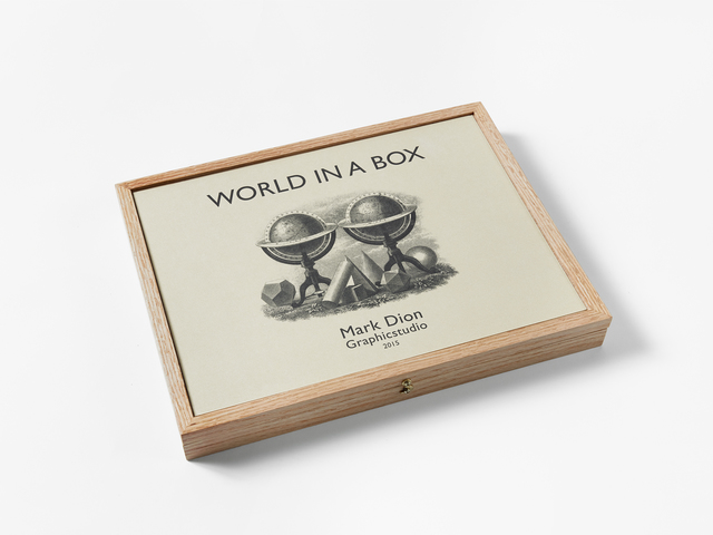 Mark Dion, 'World in a Box', 2015, Graphicstudio USF