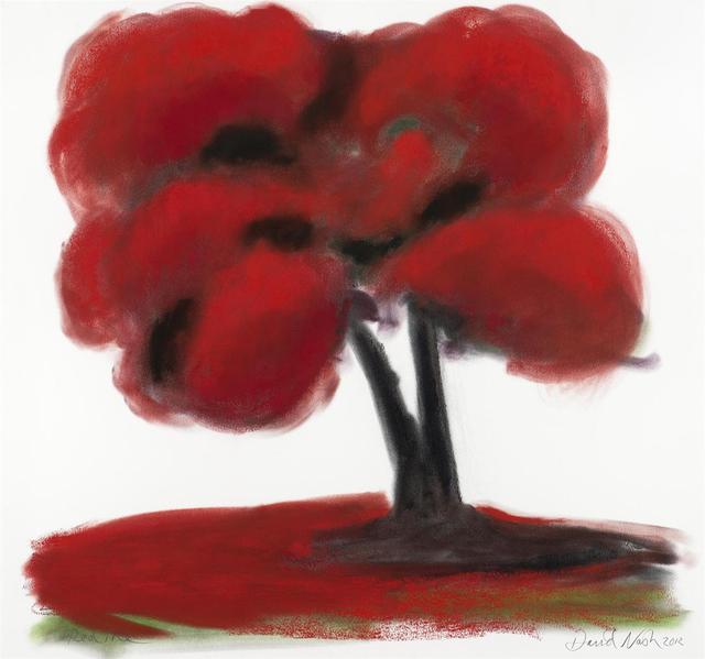 , 'Red Tree,' 2012, Galerie Simon Blais