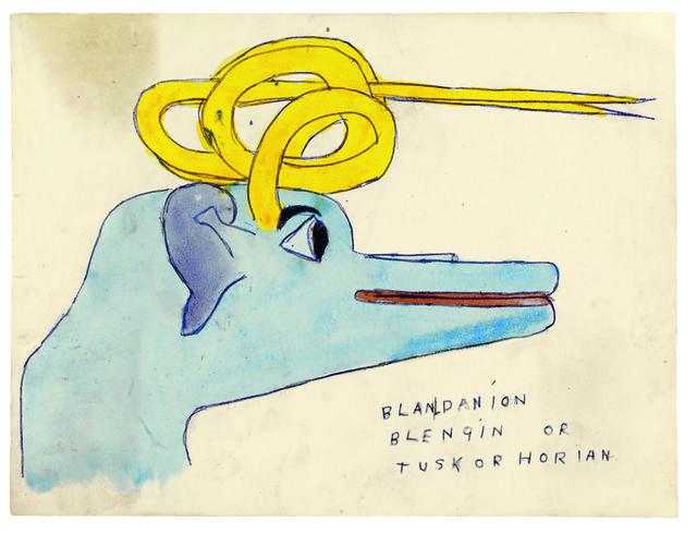 , 'Blandanion Blengin or Tuskorhorian,' 1910-1970, Musée d'Art Moderne de la Ville de Paris