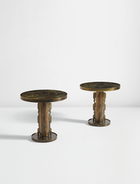 "Philip and Kelvin LaVerne, 'Pair of ""After Picasso"" end tables,' 1960s, Phillips: Design"