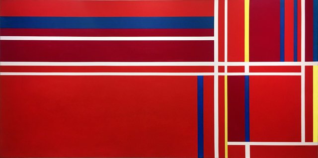 , 'Abstraction in Three Reds,' 1980, Washburn Gallery