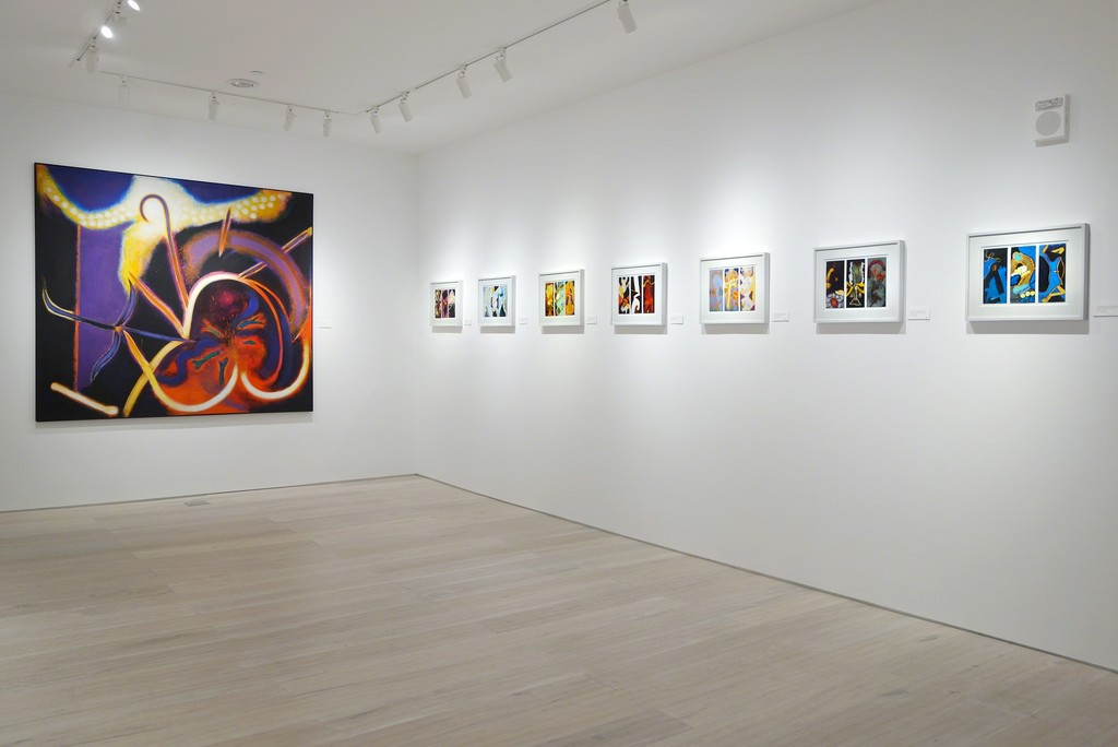 William Scharf: Imagining the Actual - Installation view