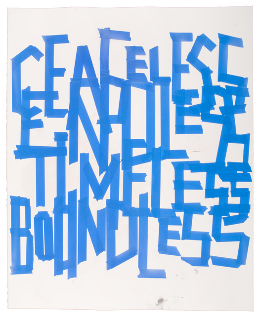 , 'Ceaseless, Endless, Timeless, Boundless,' 2010, Highpoint Editions