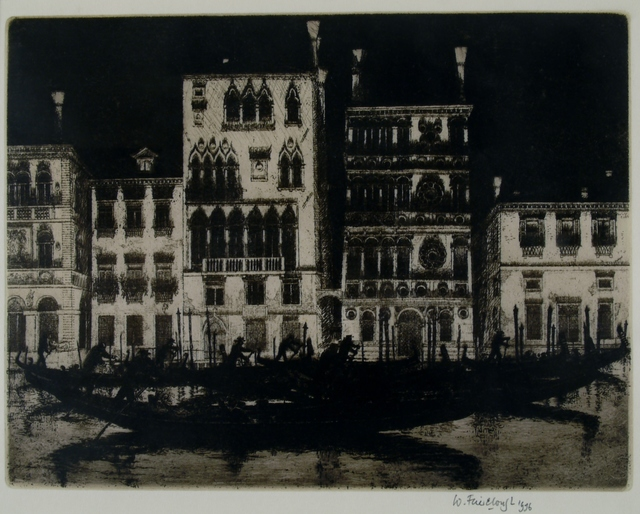 Wilfred Fairclough, 'Palazzo Dario, Venice', 1996, Private Collection, NY