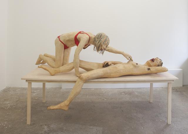 Juan Pablo Langlois Vicuña, 'La Chica del Calzón Rojo', Cindy Rucker Gallery