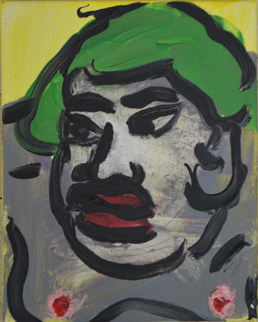 , 'Green Sumo,' 2018, Ethan Cohen New York