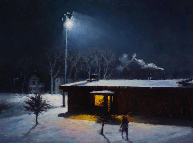 , 'Night Rink,' 2016, Susan Calloway Fine Arts