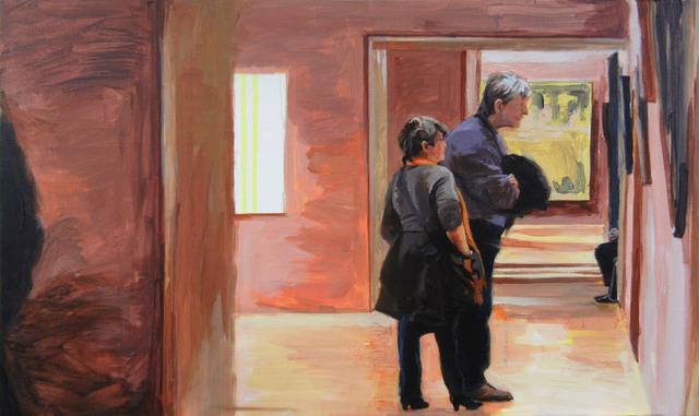, 'Les visiteurs (No 2),' 2016, Lange + Pult