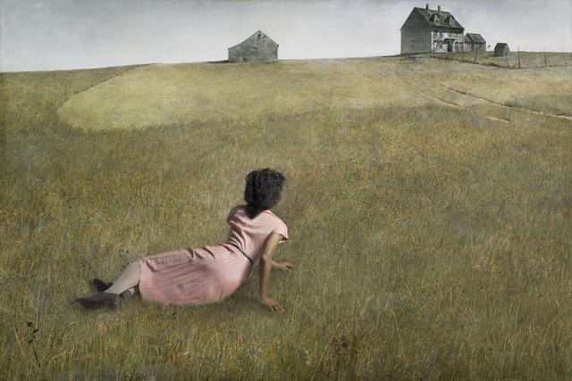 , 'Ode to Wyeth's Christina's World,' 2017, Jonathan Ferrara Gallery