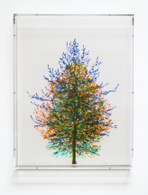, 'Numbers and Trees, Tiergarten Series 3: Tree #6, September, 2018,' 2018, Paulson Fontaine Press