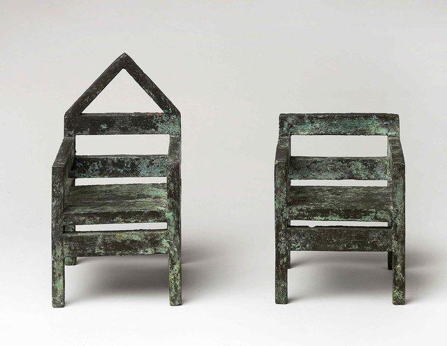 , 'King and Queen Chairs (II),' 1983, Richard Saltoun