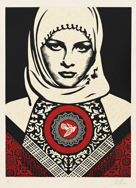 , 'Arab Woman,' 2012, Pace Prints