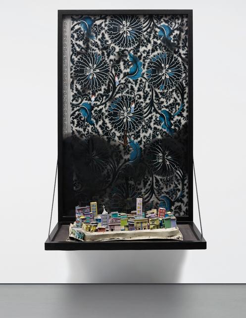 Hema Upadhyay, 'Killing Site I', 2008, Mixed Media, Acrylic, gouache, dry pastels and photographs on paper, aluminium sheet, enamel paint and found hardware material, Phillips