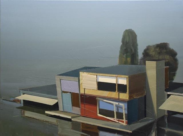 , 'Ferienhaus nahe am See (Andreas Achenbach),' 2015, AKINCI