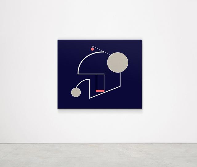 , 'Zenith of Sky (Buckminster Fuller) ,' 2018, Kristin Hjellegjerde Gallery
