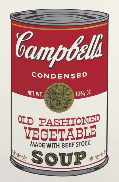 Andy Warhol, 'Old Fashioned Vegetable, from Campbell's Soup II', 1969, Print, Screenprint in colors, on smooth wove paper, Christie's