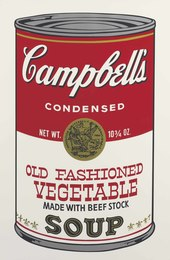Old Fashioned Vegetable, from Campbell's Soup II
