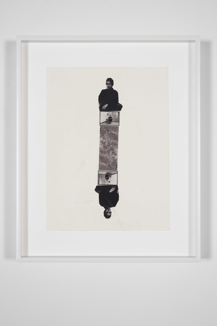 , 'Bob Dylan, Bas Jan Ader, Smaug Mirrored Totem (b&w),' 2003, Bortolami