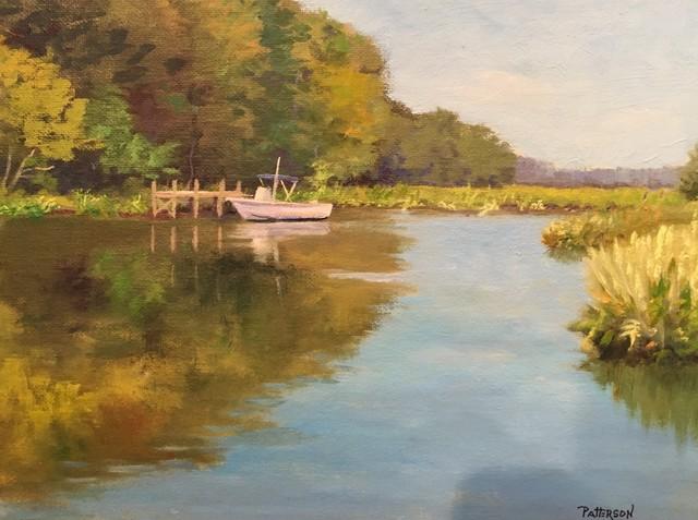 , 'Docked,' 2017, Peninsula Gallery