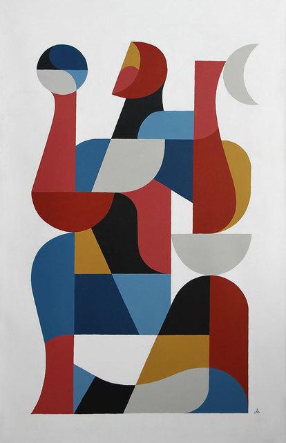 """, '""""Refais, Demande, Divin"""",' 2019, David Bloch Gallery"""