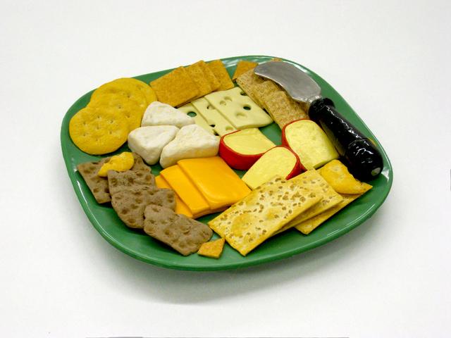 , 'Cheese 'n' Crackers,' 2017, Lois Lambert Gallery