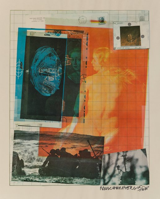 Robert Rauschenberg, 'Paris Review', 1965, Heritage Auctions