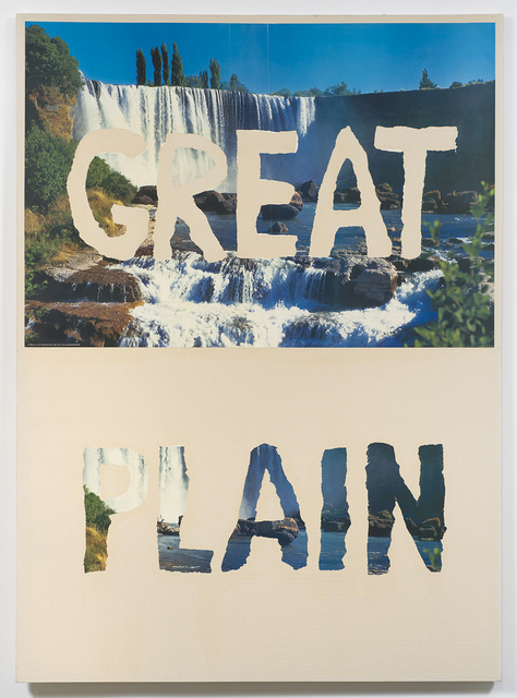 , 'Great Plain,' 1988, Ghebaly Gallery