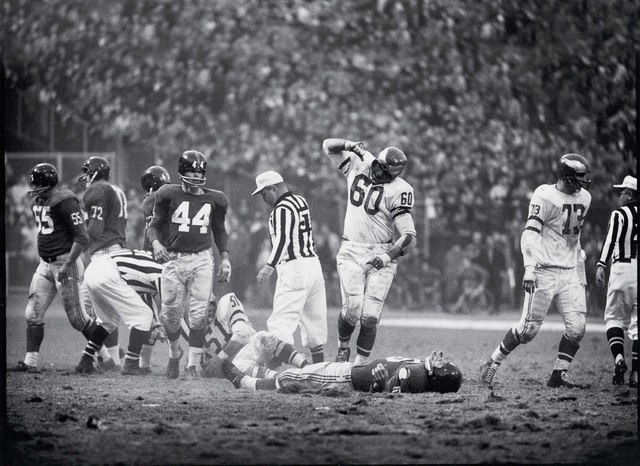 , 'Chuck Bednarik Knocking Out Frank Gifford,' 1960, Soho Contemporary Art