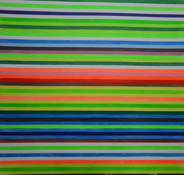 Ihosvanny Cisneros, 'Distortion 2, Horizontal Lines', 2018, MOVART