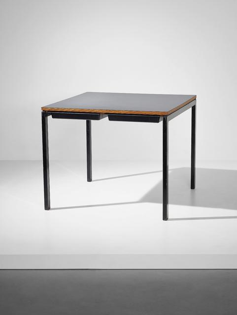 Charlotte Perriand, 'Table, from a 'chambre d'étudiant', Maison du Brésil, Cité Internationale Universitaire de Paris', 1956-1959, Phillips