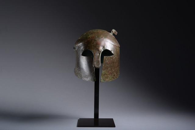 , 'Apulo Corinthian Bronze Helmet,' 600 BCE-501 BCE, ArtAncient