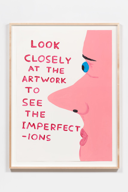 , 'Untitled (Look Closely At The Artwork),' 2016, Anton Kern Gallery