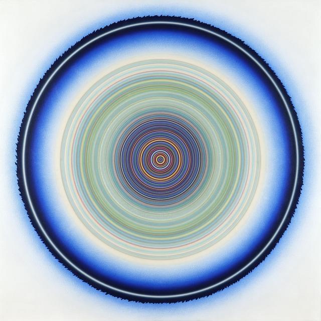 , 'G-108 (Multicolor Center with Blue Ring),' 1975-1977, D. Wigmore Fine Art