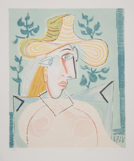 Pablo Picasso, 'Femme a la Collerette, 1937', 1979-1982, RoGallery