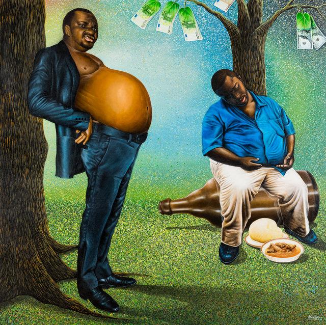 , 'Gaillard zéro,' 2017, Africa Bomoko