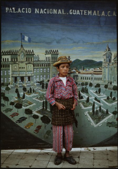 , 'Country boy with cityscape, Solola,' ca. 1970, Deborah Bell Photographs