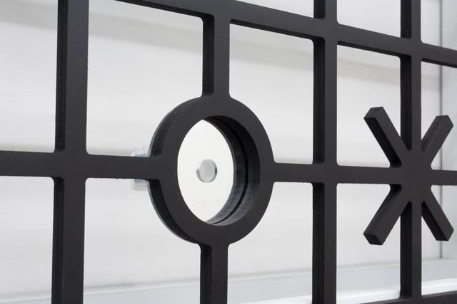 Edra Soto, 'GRAFT', 2021, Installation, Aluminum tube, foamed PVC, mirrored acrylic, plastic, inkjet prints, Morgan Lehman Gallery