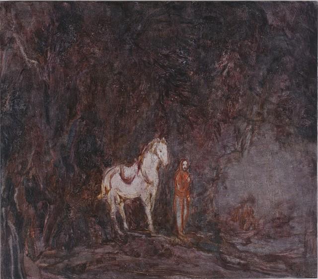 , ' White Horse,' 2017, Aye Gallery