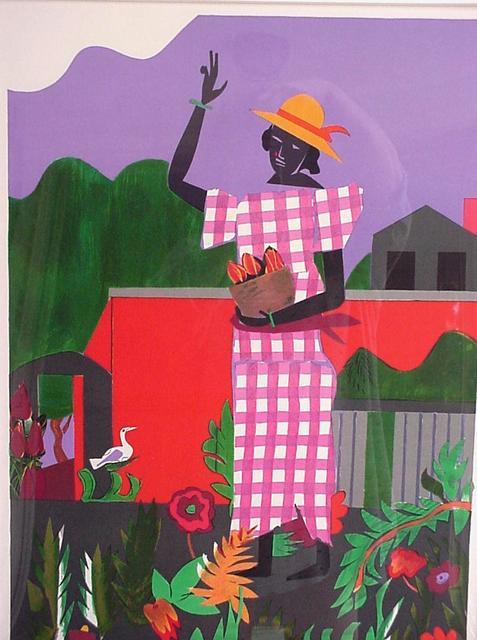 , 'Girl in the Garden,' 1979, Barnett Fine Art