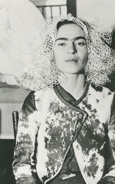 , 'Frida With Doily On Her Head, New York,' 1935, Matthew Liu Fine Arts