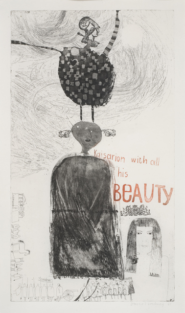 David Hockney, 'Kaisarion with all his beauty', 1961, Joanna Bryant & Julian Page