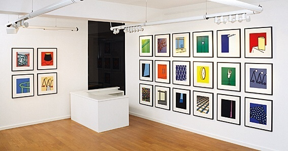Patrick Caulfield, Some Poems of Jules Laforgue, Book and the complete set of 22 screenprints in Colours, 1973