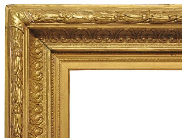 , 'American Gilded Gesso Frame, Ca. 1875-1880 (24x33.5),' 1875-1880, Susquehanna Antique Company