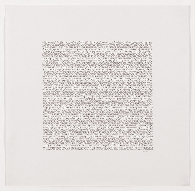 , 'P-122d,' 1972, bitforms gallery