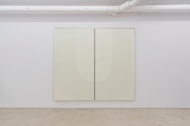 Nathlie Provosty, 'Doubleu (Pale)', 2014, Painting, Oil on Linen, LUNDGREN GALLERY