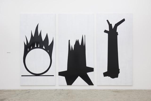 , 'L-19.1/2/3 (Strömung),' 2019, Galerie Mark Müller