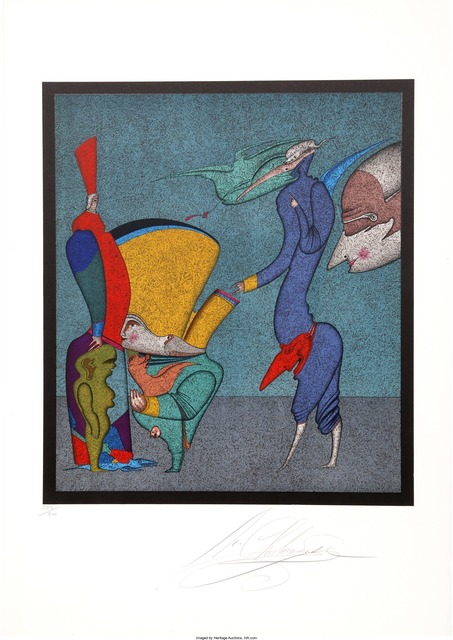 Mihail Chemiakin, 'Untitled I from Carnival of St. Petersburg Suite', circa 1980, Heritage Auctions